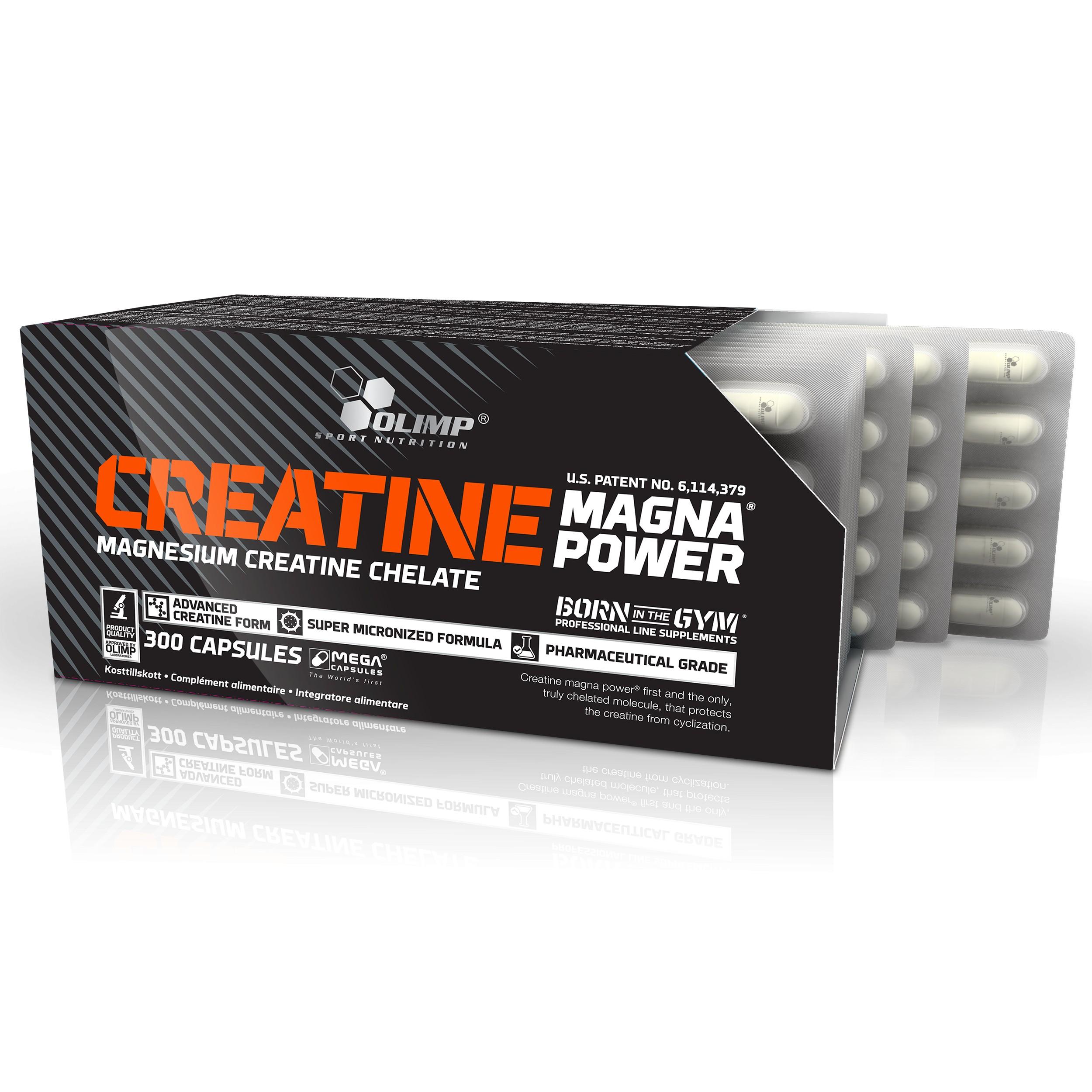 Creatine Magna POWER 120 MEGA Caps