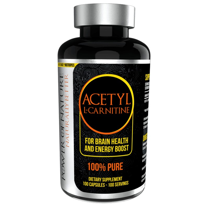 Acetyl-L-Carnitine 500mg 100 caps