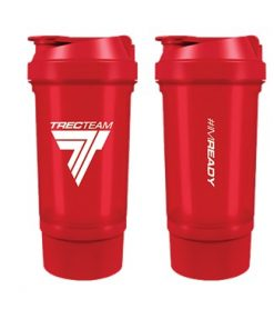 SHAKER   0,5 l BLACK  IM READY RED
