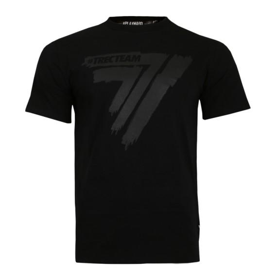 T-Shirt Play Hard Black