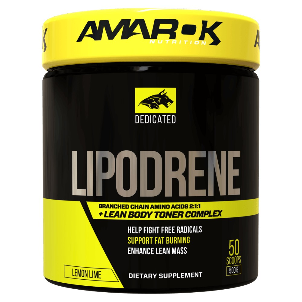 DEDICATED BCAA + LIPODRENE 500g