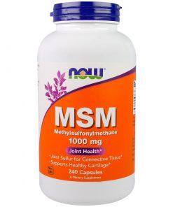 MSM  1000 mg  240 Capsules