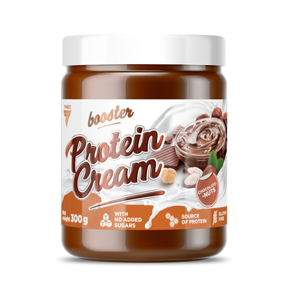 BOOSTER PROTEIN CREAM 300g CHOCOLATE-NUTS