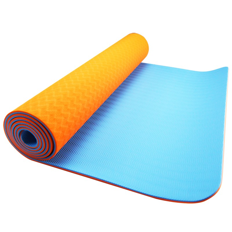 TPE YOGA DÝNA Orange+blue