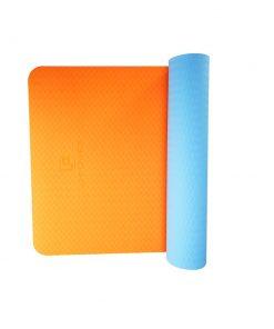 TPE YOGA DÝNA Orange+blue